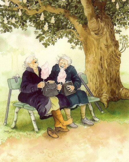 весёлые бабушки Инге Лоок