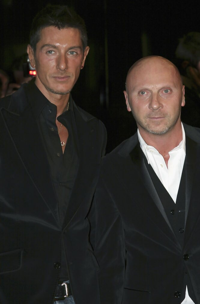 Доменико Дольче (Domenico Dolce) и Стефано Габбана(Stefano Gabbana)