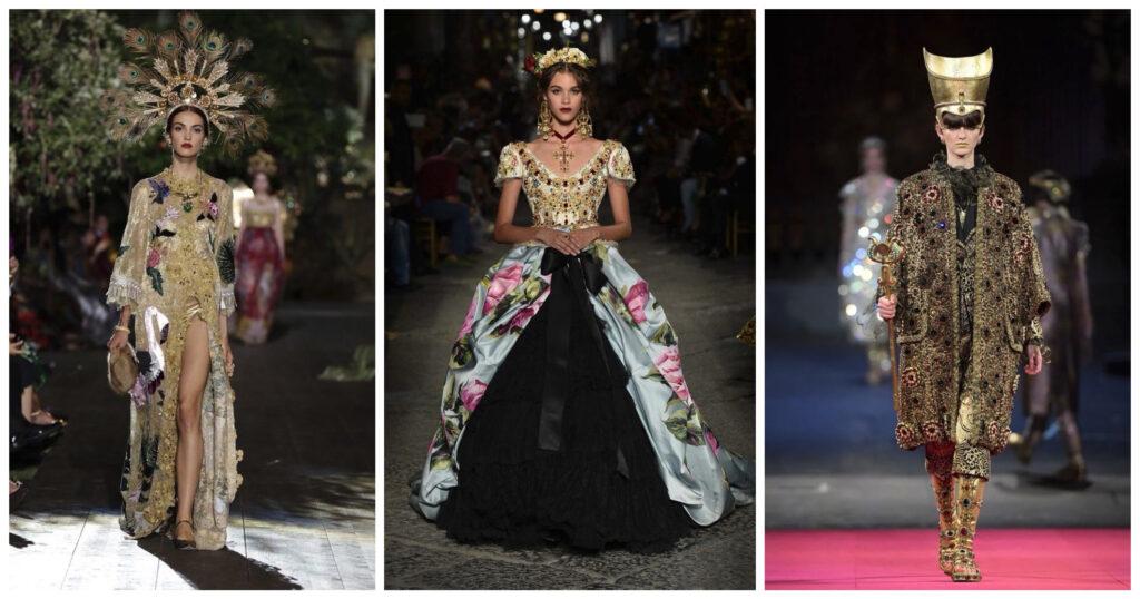 Haute Couture бренда Dolce & Gabbana