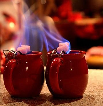 Feuerzangenbowle горящий пунш