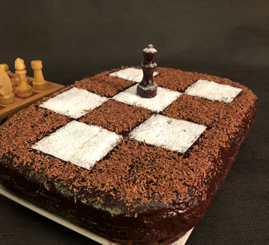 """торт """"Ход королевы"""""""